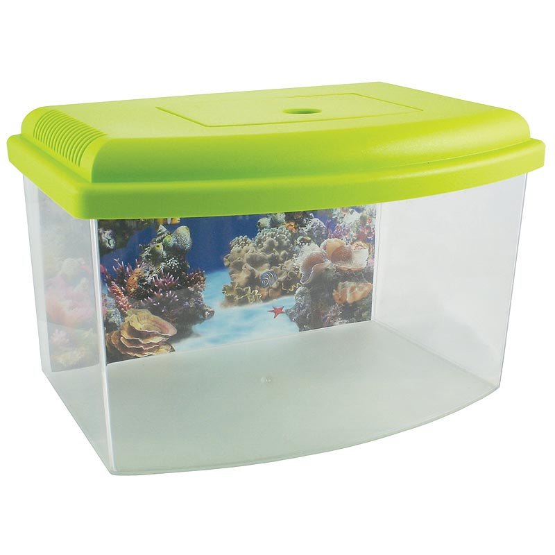 Plastová akvária