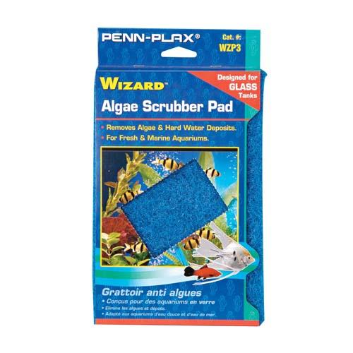 PENN PLAX Algakaparó Wizard 15x23cm üvegakváriumhoz