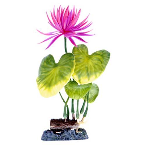 PENN PLAX Műnövény 20,32 cm Water Lily (Red)  M