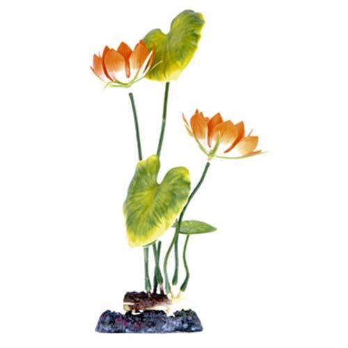 PENN PLAX Műnövény 25, 4 cm Water Lily (White) L
