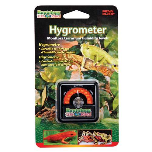 PENN PLAX REPTOLOGY Reptile Hygrometer nedvességmérő