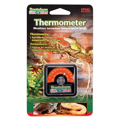 PENN PLAX REPTOLOGY Reptile Thermometer -teplomer