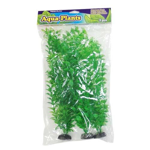 PENN PLAX Műnövény 40,6cm szett 3db zöld növények