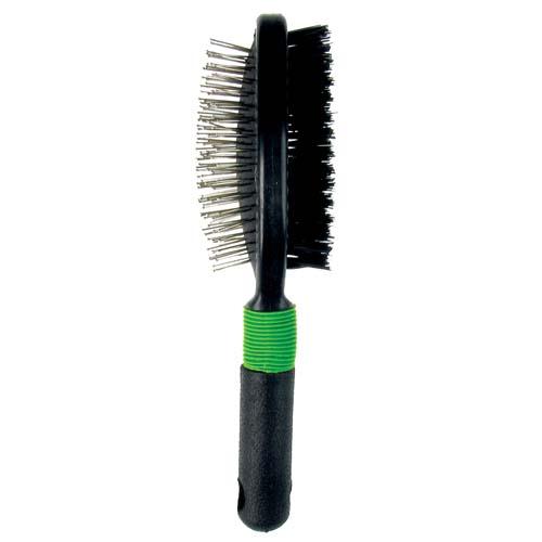 TP PET EXPERT doublesided brush for dog 23x6,5cm