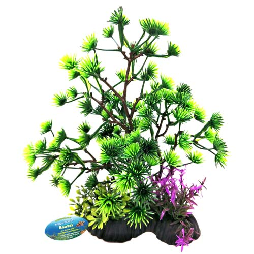 PENN PLAX Bonsai zöld 17-20cm