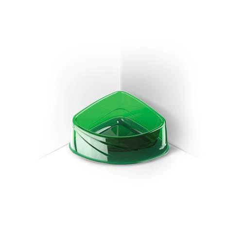 COBBYS PET Corner Lux 20x15x8cm 0,4l áttetsző saroktál