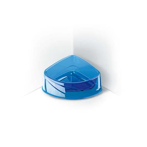 COBBYS PET Corner Lux 24,5x19x9,5cm 0,82l áttetsző saroktál