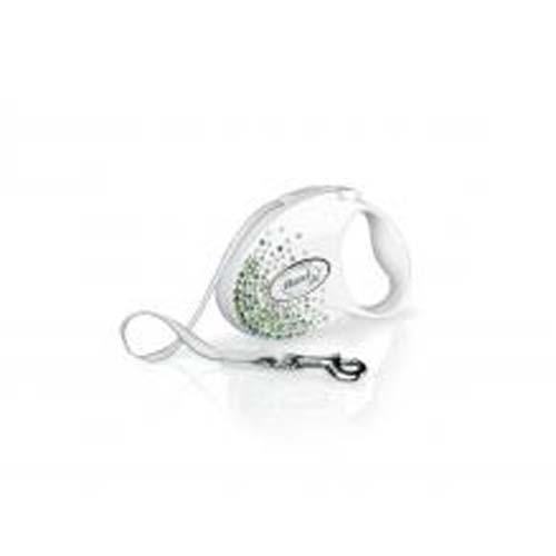 flexi Glam Splash Leaf szalag S 3m fehér 12kg SWAROVSKI®