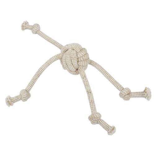 LES FILOUS Rope knot toy, Jute-cotton, 32cm, 90-100g
