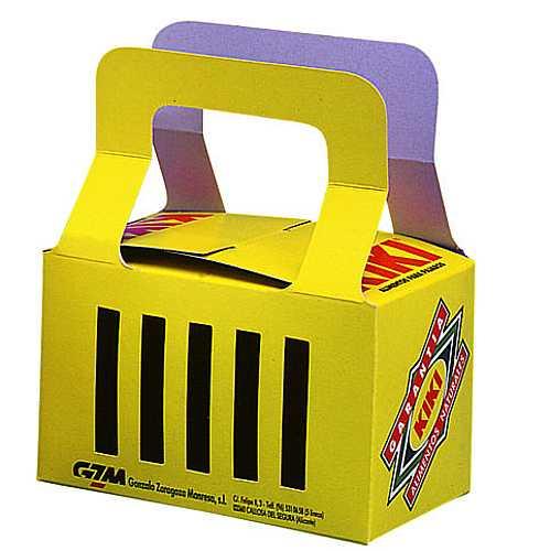KIKI papír szállítóbox  madaraknak 8,7 x 14 x 8,8cm
