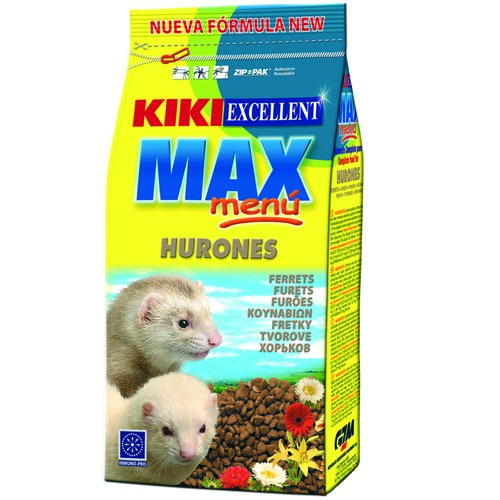 KIKI MAX Menu Ferret  2kg vadászgörény táp