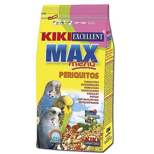 KIKI MAX Menu Budgerigar 1kg hullámos papagáj