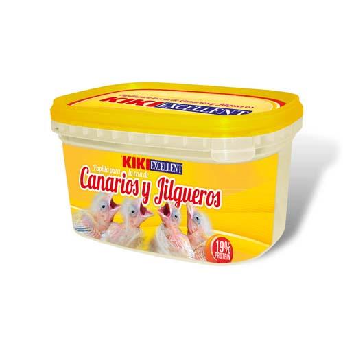 KIKI EXCELLENT PAPILLA DE CRIA CANARIOS 250g madárfióka táp kézzel etetéshez kanáriknak és pintyeknek