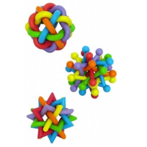 PAPILLON Rubber multi colour balls 7-8 cm Színes labdák gumiból