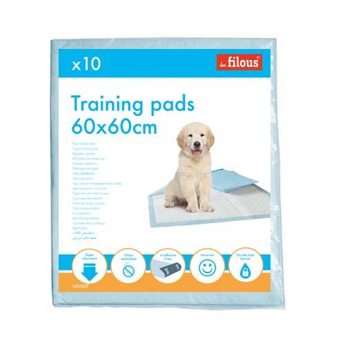 LES FILOUS PET PADS 60x60cm  10db kutyapelenka