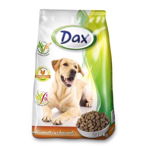 DAX Dog Dry 10kg Poultry granulált baromfis kutyatáp