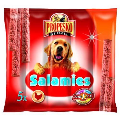PROPESKO DELIKATES SALAMIS 5db 55g baromfis kutyakolbászkák