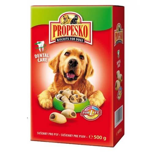 PROPESKO BISCUITS FOR DOGS MARROWS 500g töltött piskóták