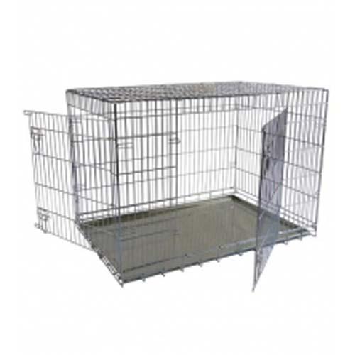 PAPILLON Fém szállítóbox két ajtóval kutyáknak 118 x 78 x 85 cm