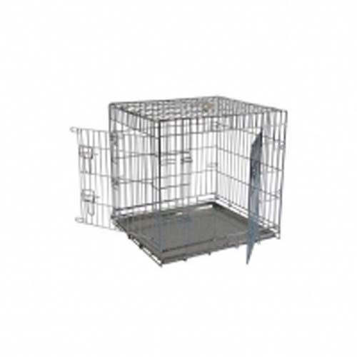 PAPILLON Fém szállítóbox két ajtóval kutyáknak 76 x 54 x 61 cm