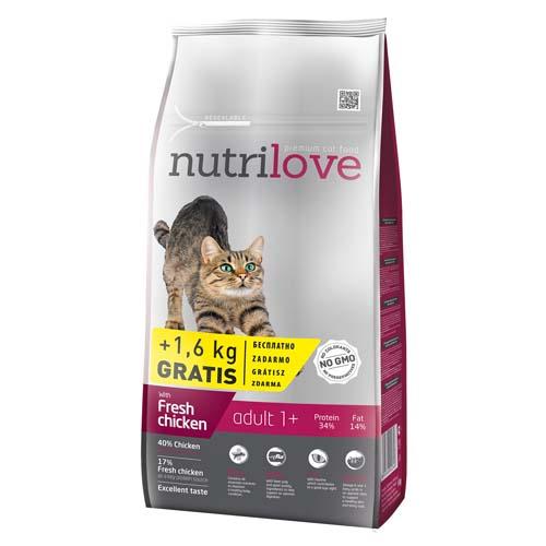 Nutrilove Cat Adutl 1+ 8kg