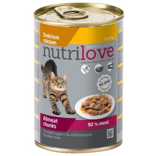 Nutrilove Cat 415g csirke