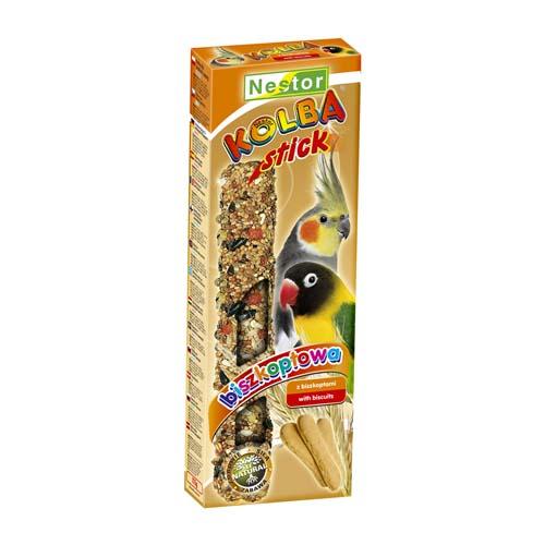 NESTOR Piskótás rúd papagájnak 2db