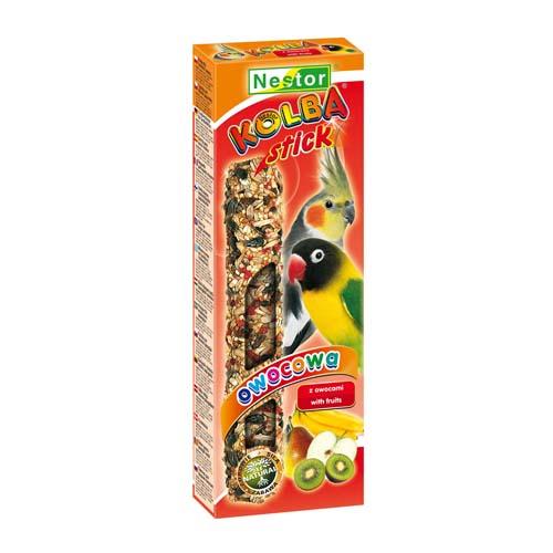 NESTOR Gümölcsös rúd papagájnak 2db