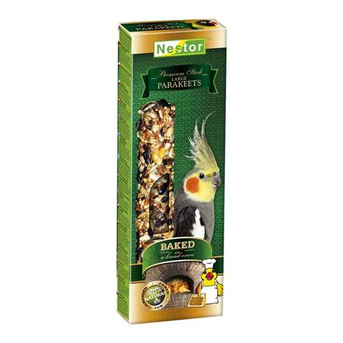 NESTOR PREMIUM STICKS dupla rúd nimfa papagájnak kenyérkemencében sült