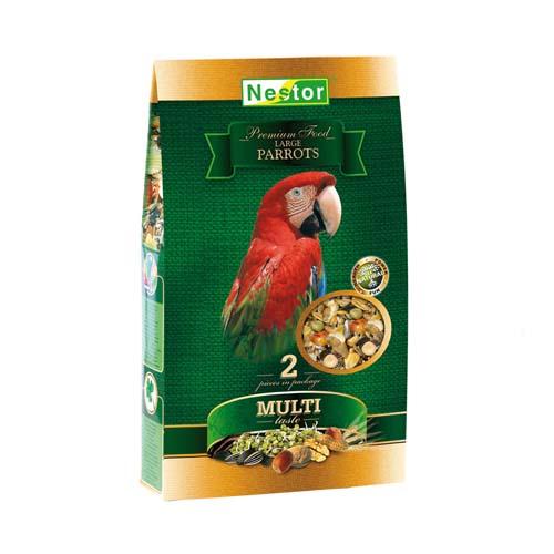 NESTOR PREMIUM Prémium táp nagytestü papagájnak 1400ml