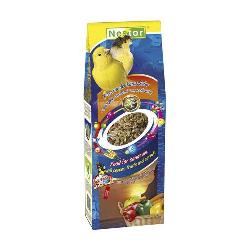 NESTOR Kanári táp paprikával, gyümölccsel és sárgarépával 700ml