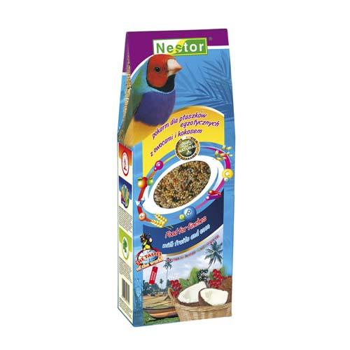NESTOR Táp exotikus madaraknak gyümölccsel és kókusszal 700ml