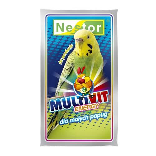 NESTOR MULTIVIT ENERGY multivitamínok hullámos papagájnak 20g