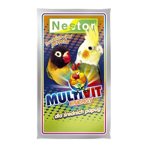 NESTOR MULTIVIT ENERGY multivitaminok nimfa és nagypapagájoknak 20g