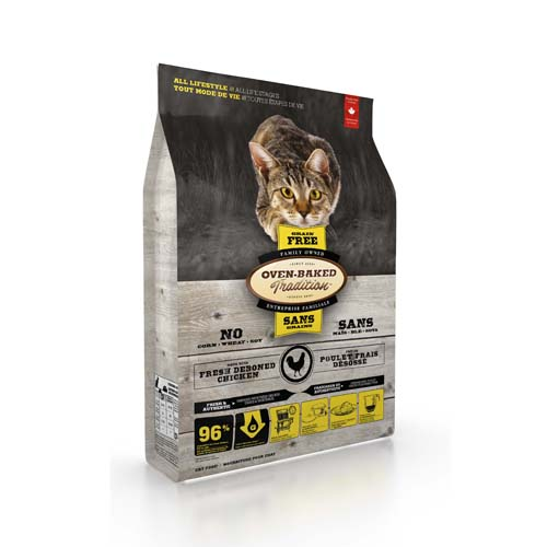 OBT Oven-Baked Tradition Cat Adult Grain Free Chicken 4,54 kg