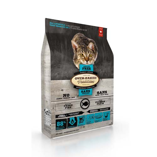OBT Oven-Baked Tradition Cat Adult Grain Free Fish 1,13 kg