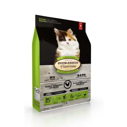 OBT Oven-Baked Tradition Cat Kitten 2,27 kg kölyökmacska táp