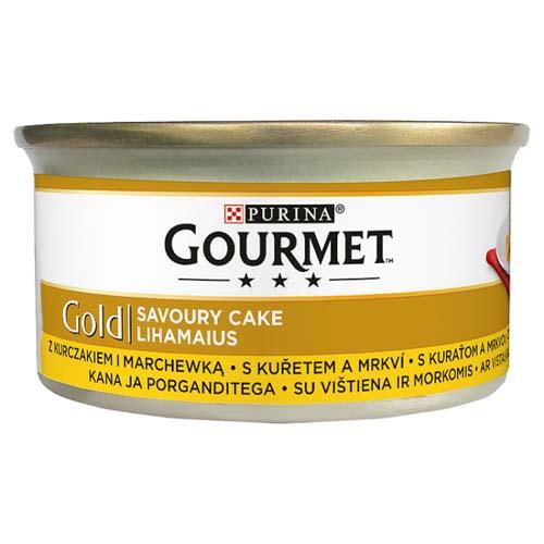 GOURMET GOLD Savoury Cake Csirke és sárgarépa 85g