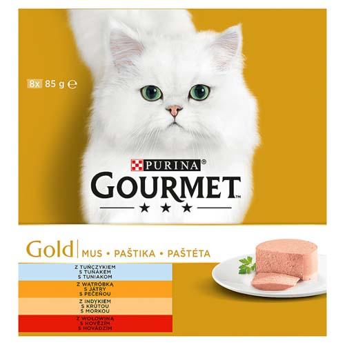 GOURMET GOLD 8x85g marhahús