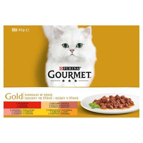 GOURMET GOLD12x85g marhahús