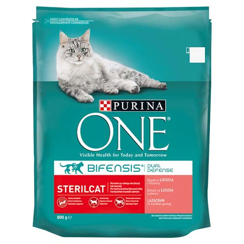 Purina ONE 800g Sterilcat lazaccal