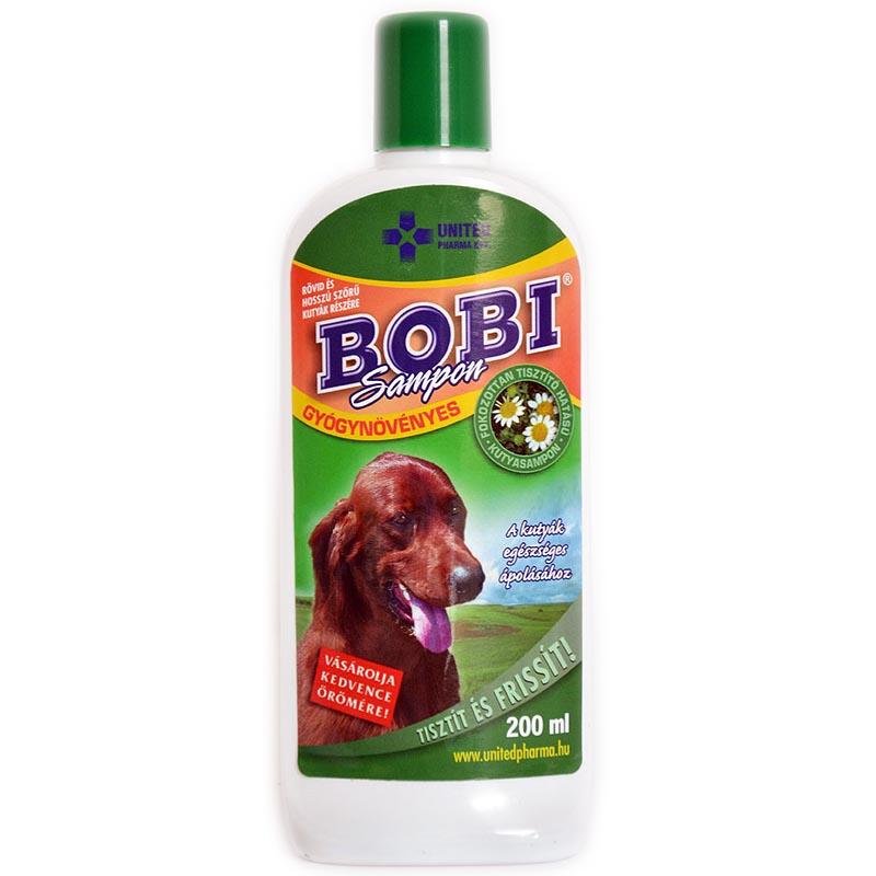 BOBI gyógysampon kutyáknak 200ml korpásodás elleni sampon