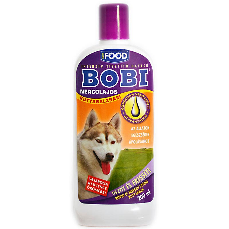 BOBI nercolajos balzsam kutyának 200ml