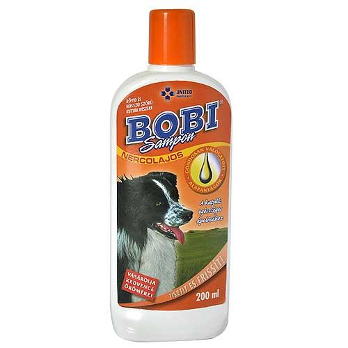 BOBI nercolajos sampon kutyának 200ml