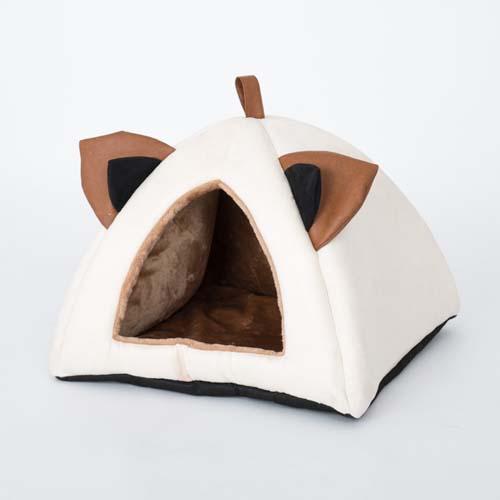 COBBYS PET Házikó fülekkel 46x46x27cm