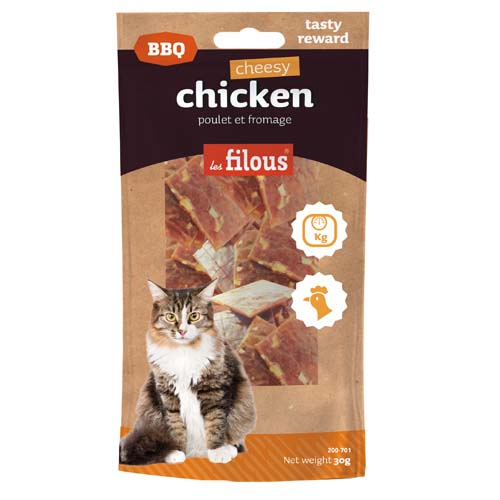 LES FILOUS BARBECUE CHEESY CHICKEN 30g