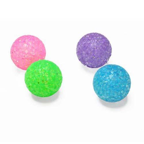 LES FILOUS Cica játék kristálylabdák 4cm csengőkkel 4db