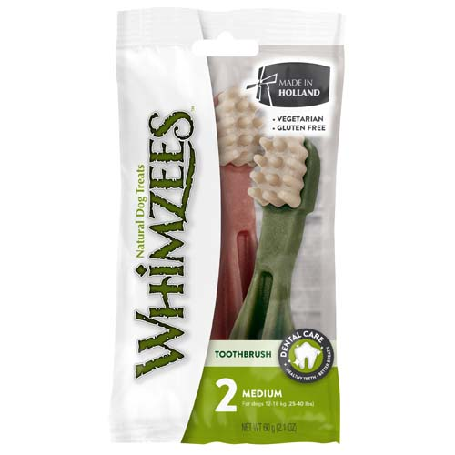 WHIMZEES Flow Wrap Toothbrush Star  M 11,4cm / 30g 2ks DUO