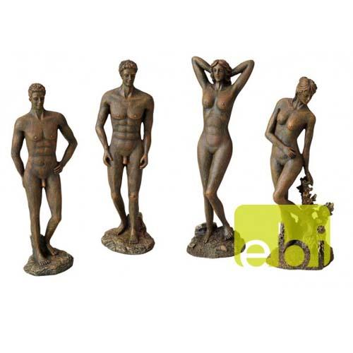 EBI DECO AQUA DELLA STATUE ROMAN bronze 9,2x8,3x28,5cm