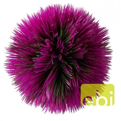 EBI AQUA DELLA PLANT BALL PURPLE 11x11x11cm plastic